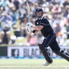 Colin Munro in action for the Black Caps during the second ODI against Sri Lanka. Photo: Getty...