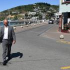 Dunedin city councillor Conrad Stedman wants to see cars remopved from part of the Esplanade at...