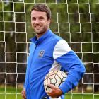Southern United centre back Erik Panzer has had a strong first season with the club. Photo: Peter...