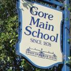 Gore Main School has a limited statutory manager. Photo: Ashleigh Martin