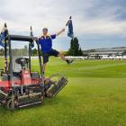 Molyneux Park groundsman Gary Smith has the ground looking a picture for tonight's pre-season...