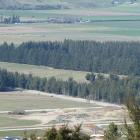 The land, among pine trees, south of Cemetery Rd, Lake Hawea, where a 400-lot subdivision is...
