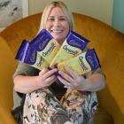 Former Cadbury worker Megan Fairley, of Dunedin, hopes to raise awareness of the mental health...