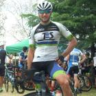 Pleased to come out on top is Josh Haggerty, of Invercargill, who won the Lake Dunstan Cycle...