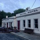 The Royal Hotel, aka the bottom pub, Naseby. PHOTO: JANE KING