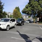 Cars head down Queenstown's Stanley St yesterday. The tourism hot spot hosted 2.6 million guest...