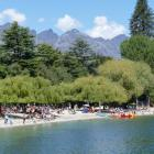 Queenstown Bay has been declared safe for swimmers again. Photo: Tracey Roxburgh