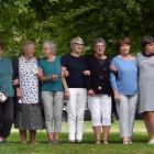 Attending a Dunedin nursing reunion are (from left) Lou McKenzie, Pauline Stringer, Edie Pont,...