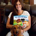 Harriet Bremner has already penned drafts for another children's book on farm safety. Photo:...