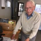 Writing the history of North Canterbury station has been a labour of love for Aubrey Cropp. Photo...