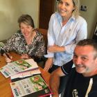 Mid Cantabrians Sandra Curd, Larissa Ewing and Rocky Bull are some of the organisers behind the...