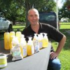 Malcolm Gawn (pictured) and his wife Tracy Tooley make and sell soap, shampoo and creams using...