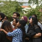 University of Otago students from India, Iran, Sri Lanka, Pakistan, Mexico and Turkey attending a...