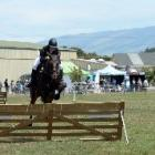 Mackenzie Clearwater riding Rumbling Thunder at last year's show.