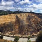 The historic Martha mine in Waihi, in the Waikato, earlier this month, which, combined with new...