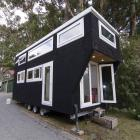 A tiny house in the Wairarapa. Photo: Wairarapa Times-Age