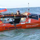 Russian adventurer Fedor Konyukhov has passed the halfway mark in his rowing journey from Dunedin...