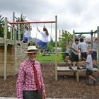 Cromwell College principal Mason Stretch supervises pupils at the burgeoning Central Otago high...
