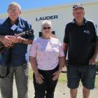 Lauder Beautification Society members and  Lauder Ukulele Festival organisers  Bruce (left) and...