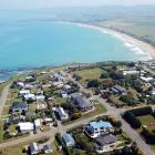 Aerial shot over Kakanui in 2017. Photo: Craig Baxter