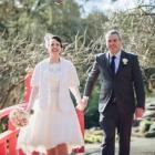 Rebecca and Adder van Dijk got married in Oamaru in 2017. Photo: Supplied