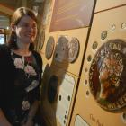 Dr Gwynaeth McIntyre is digitising the Otago Museum's collection of Roman coins. PHOTO: GERARD O...