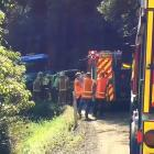 A rescue helicopter has been dispatched to a two-vehicle crash near Waipori Falls this afternoon. Photo: Gregor Richardson