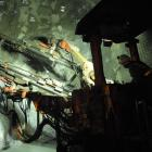 Underground drilling at Oceana Gold's existing Correnso mine in Waihi. A further 42,000m of...