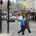 Local businesses are becoming squeezed out of the prime George St (pictured) market by national...