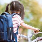 """The Government wants more schoolchildren participating in what it calls """"active transport"""". Photo..."""