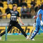 Tim Southee put in a superb display with the ball in the first T20 against India after struggling...