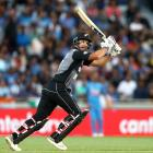Colin de Grandhomme made a quickfire 50 for New Zealand. Photo: Getty
