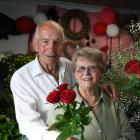 John and Andrena Hattrill, of Owaka, celebrate 60 years of marriage this Valentine's Day. Photo:...
