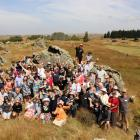 A gathering of QEII National Trust covenanters was held recently amid the distinctive Strath...