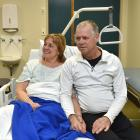 Brenda and Doug Weening are counting their blessings after a ``traumatic'' jet-boat accident in...