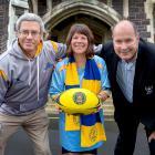 The University club's women's rugby programme facilitator Terry Kerr, University of Otago Vice...
