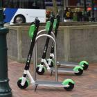 Lime says it is working to educate e-scooter riders on safe riding and parking practices. Photo:...