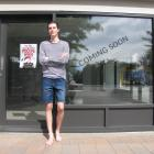 Max Hall, of Wanaka, is raising money to fund his fashion design studies. PHOTO: MARK PRICE