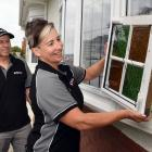 Cathy Mann and Mike Hodges have developed a triple-glazing window product which reduces the cost...