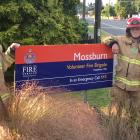 Olivia Ross (left) and Rachel Naylor, from the Mossburn Volunteer Fire Brigade, are tackling the...