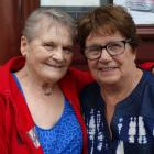 Oamaru woman Ngaire de Geest (right) met her friend and pen pal of 63 years, Carol Erickson,  for...
