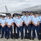 Ranging from an inspector to freshly-minted constables, Dunedin police officers prepare to fly to...