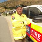 Queenstown firefighter Bobby Lamont is back from fighting a huge wildfire in Tasmania. Photo: Guy...