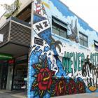 Steen Jones' mural in Cow Lane, Queenstown. Photos: Tracey Roxburgh