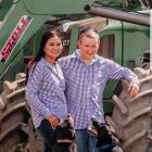 Matt and Riya Anderson are looking forward to this year's Kaikoura A&P Show. Photo: Supplied