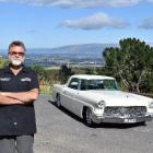 Set for debut ... Graham Rollo's 1956 Continental, which will enter the Great USA Day for the...