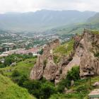 Troglodyte cave-homes rise above the town of Goris in southern Armenia. Photos: Diana Noonan