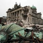 The Christchurch Catholic Cathedral, which was damaged extensively in the 2011 earthquake. Photo:...