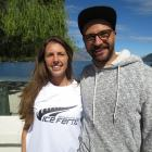 Danielle and Ryan Strayer are both playing ice hockey for NZ at world champs next month. Photo:...