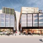 Major proposal: An artist's impression of the proposed two hotel buildings on Gorge Road. Photo:...